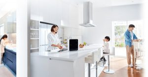 Vòi nước được thiết kế thông minh đảm bảo độ sạch và chất lượng tốt nhất cho nguồn nước